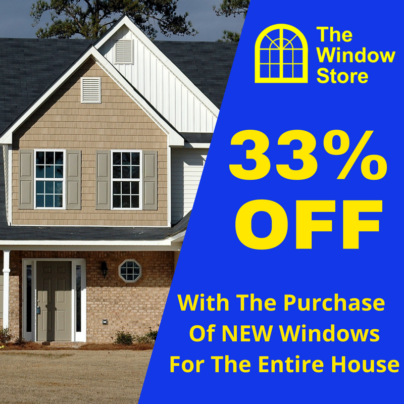 specials the window store up to 33 off replacement windows