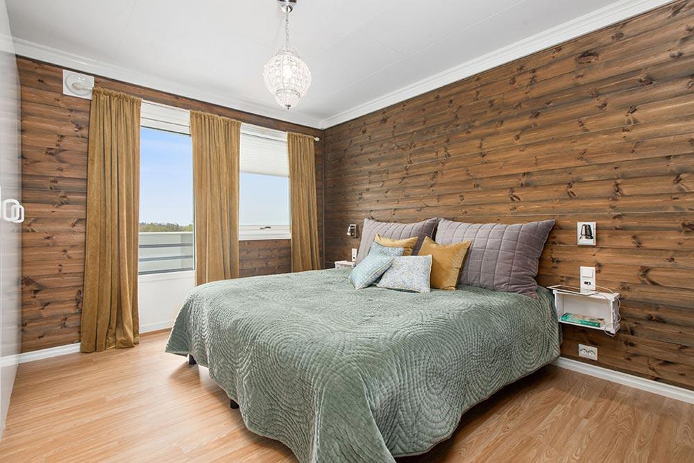 Bedroom With New Windows