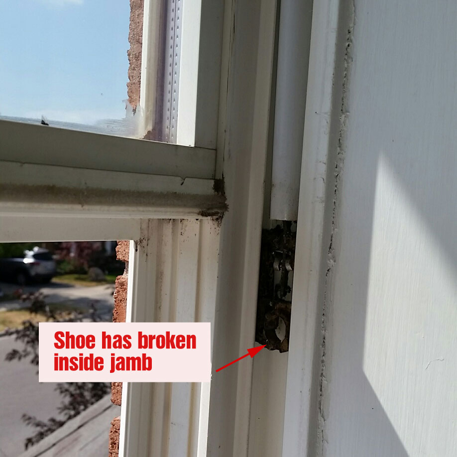 Window frame rot