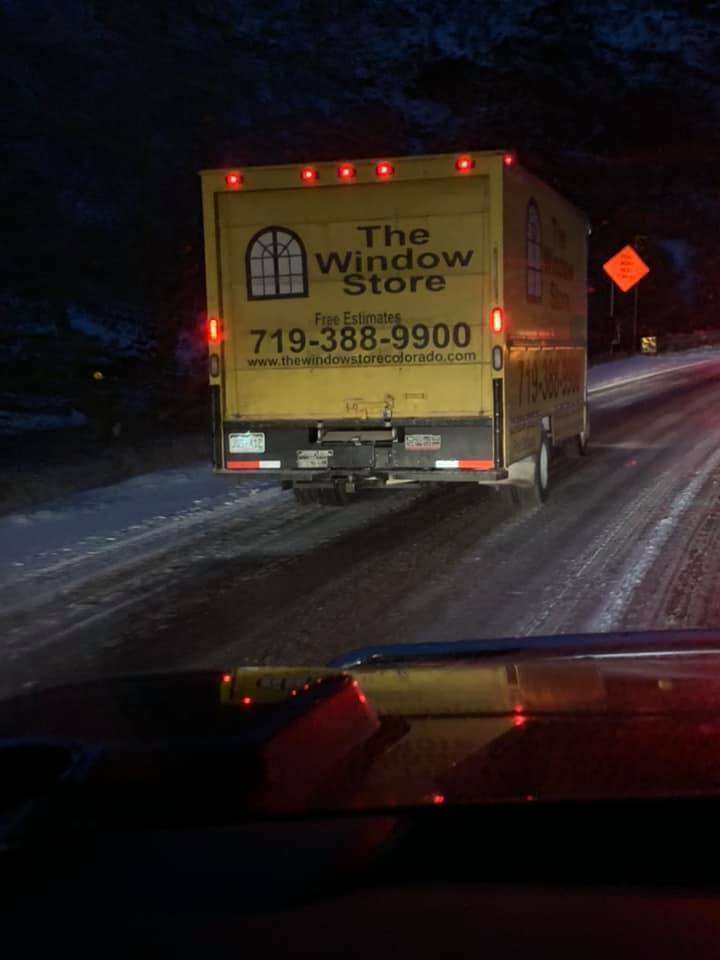 The Window Store Truck, Icy Conditions